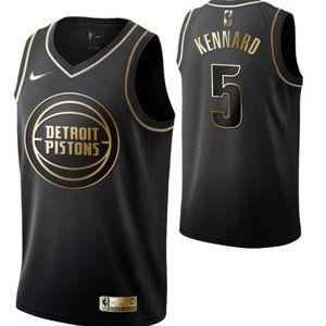 Detroit Pistons #5 Luke Kennard Swingman Jersey
